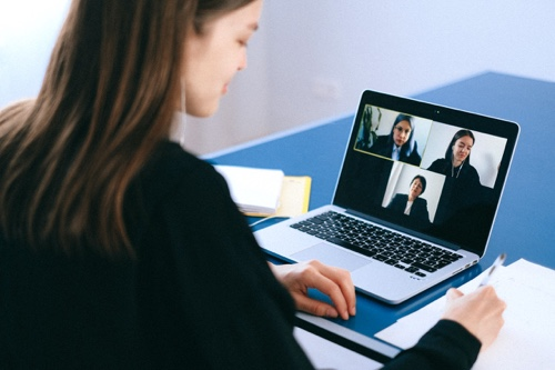 Collaborating remote team