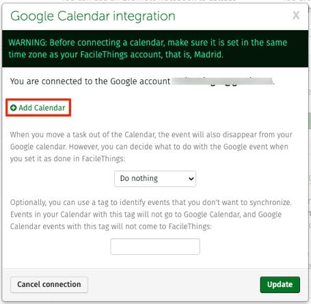 adding calendars