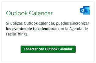 conexión con Outlook